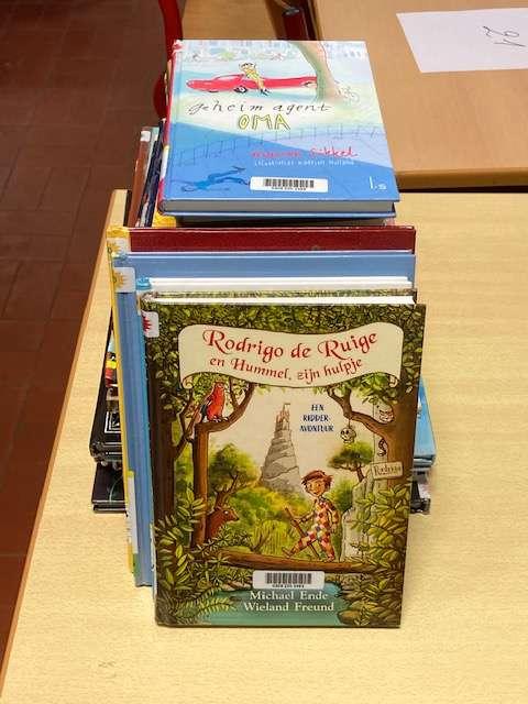 4B: De bibliotheek komt naar de klas!